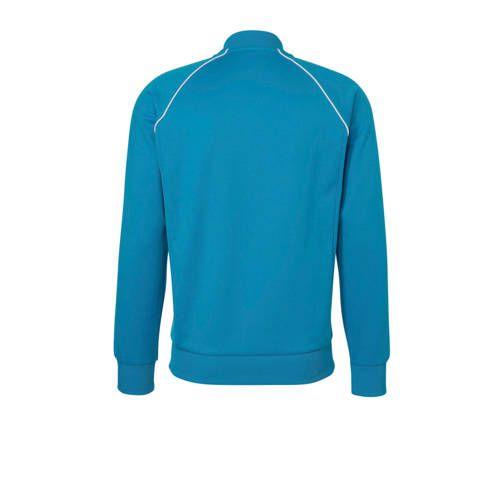 adidas vest blauw heren