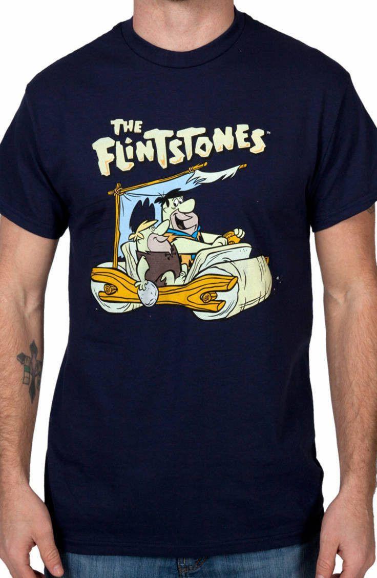 The Flintstones T-Shirt: 80s Cartoons Flintstones T-shirt