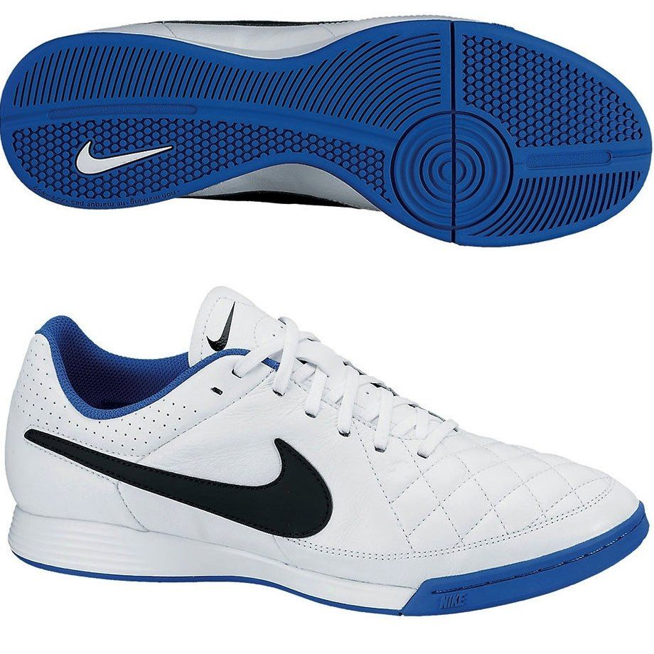 Sepatu Futsal Nike Tiempo Genio Black Tiempox Ii Leather Ic Shoes Hitam 631283 104 Midsole Dengan Kepadatan Tinggi Eva