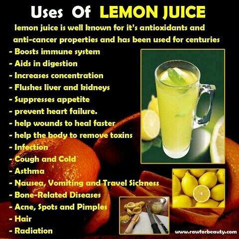Leon Juice Uses
