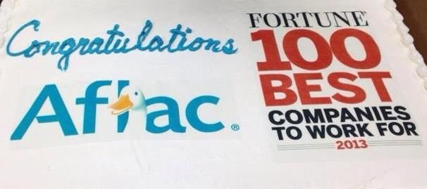 Aflac Life Insurance Quotes Awesome Love My Job Aflac Made Fortune Magazine's 100 Best Companies To