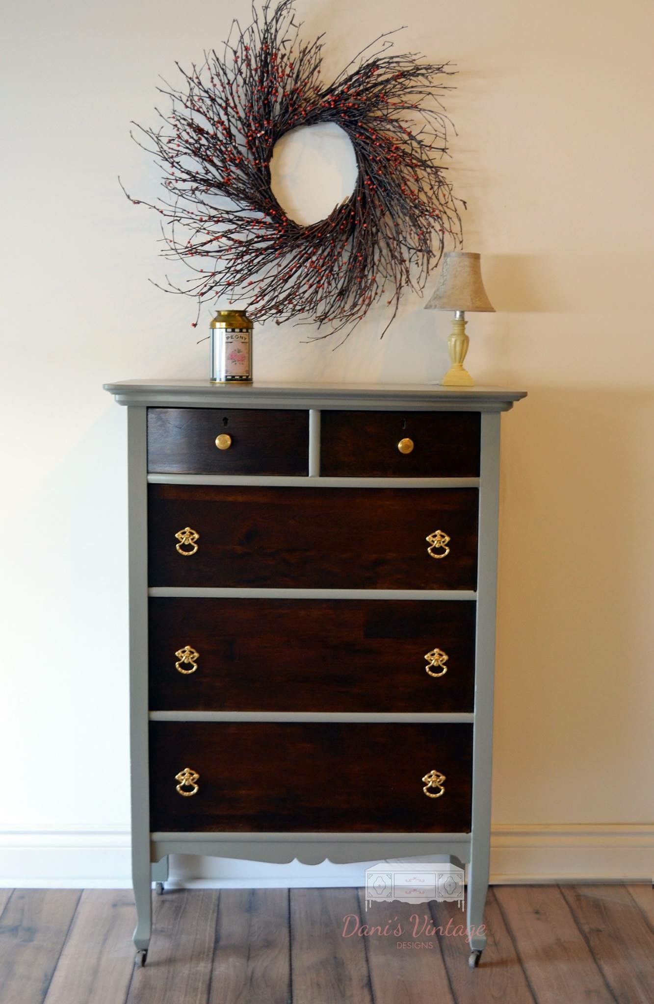 Painted Dresser Antique Paint