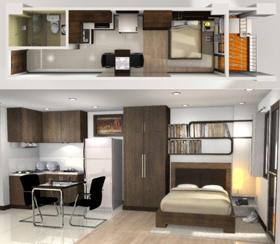Studio Condo Unit Interior Design
