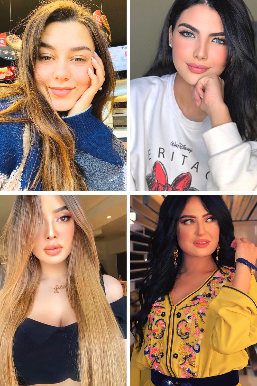 7 نساء مغربيات أثرن الزوبعة في تيك توك Fashion Women Women S Top