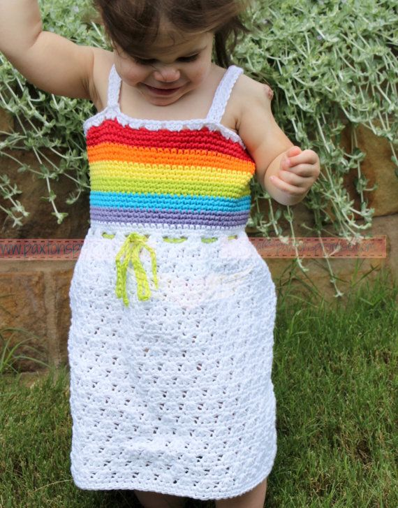 Baby Toddler Girls Crochet 100% Organic Cotton by PaxtonsPromise
