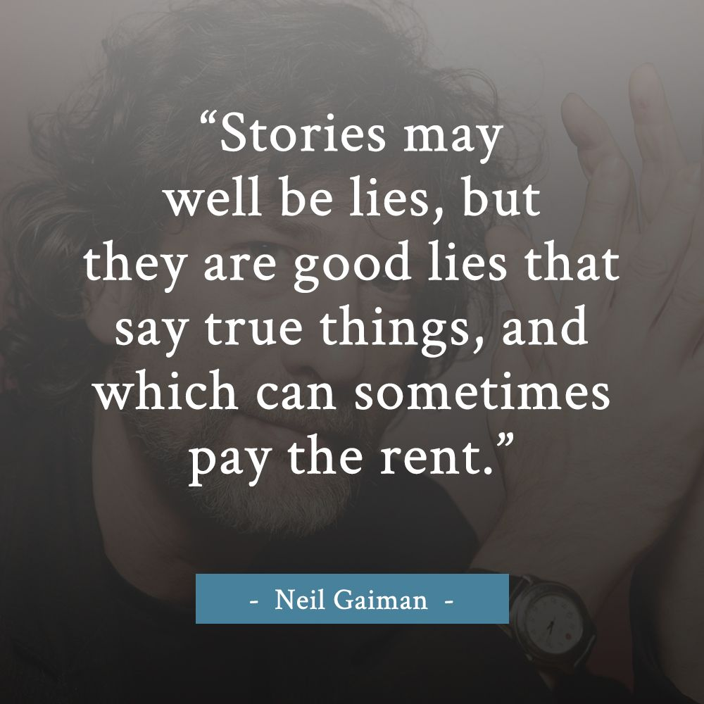 Quotes About Friendship By Famous Authors The Power Of Stories  Neil Gaiman Quote  Writing Quote
