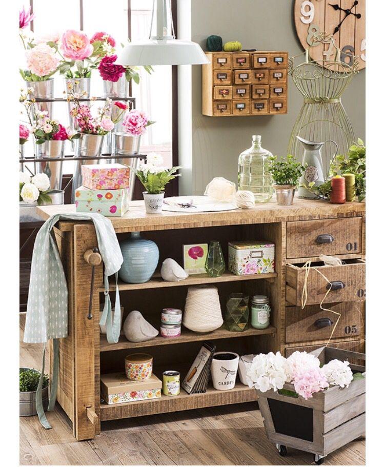 Spring at Maison du Monde   Office & Craft Room Work Tables ...