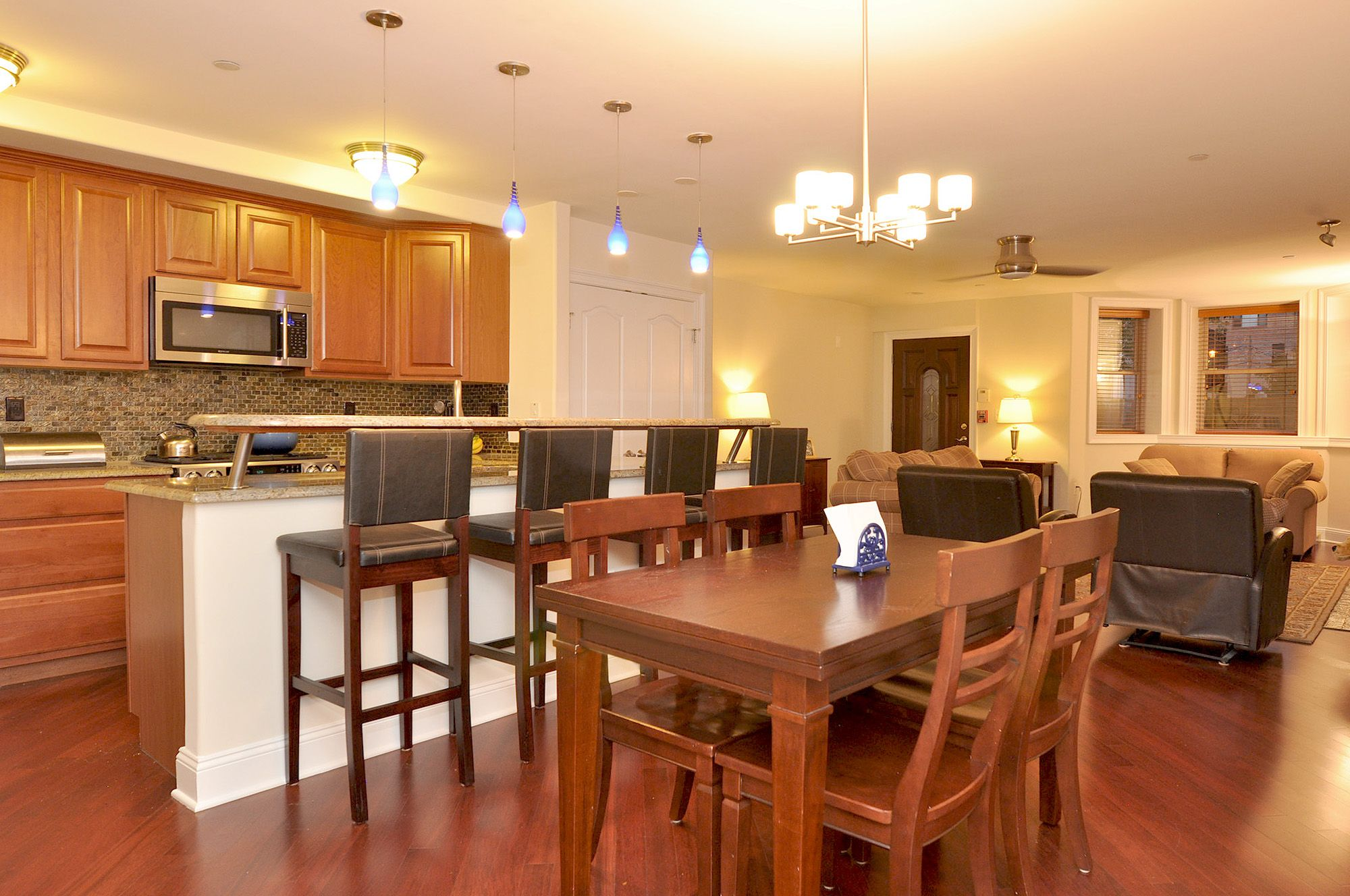 Kitchen Living Room Combo Ideas | Kitchen dining room ...