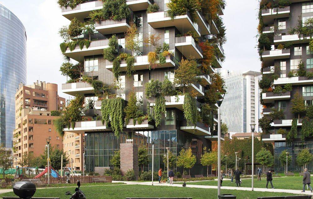 vertical forest, stefano boeri architetti | architecture work, Innedesign