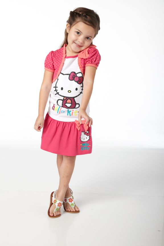 3e25d9cbc Hello Kitty Girls Outfit from Bealls Women Clothing Stores Online, Little  Fashionista, Toddler Outfits