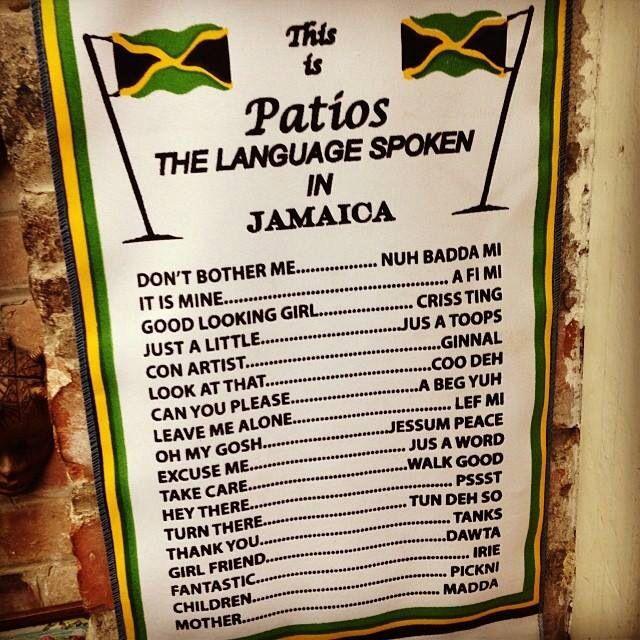 Patois Translation Jamaica