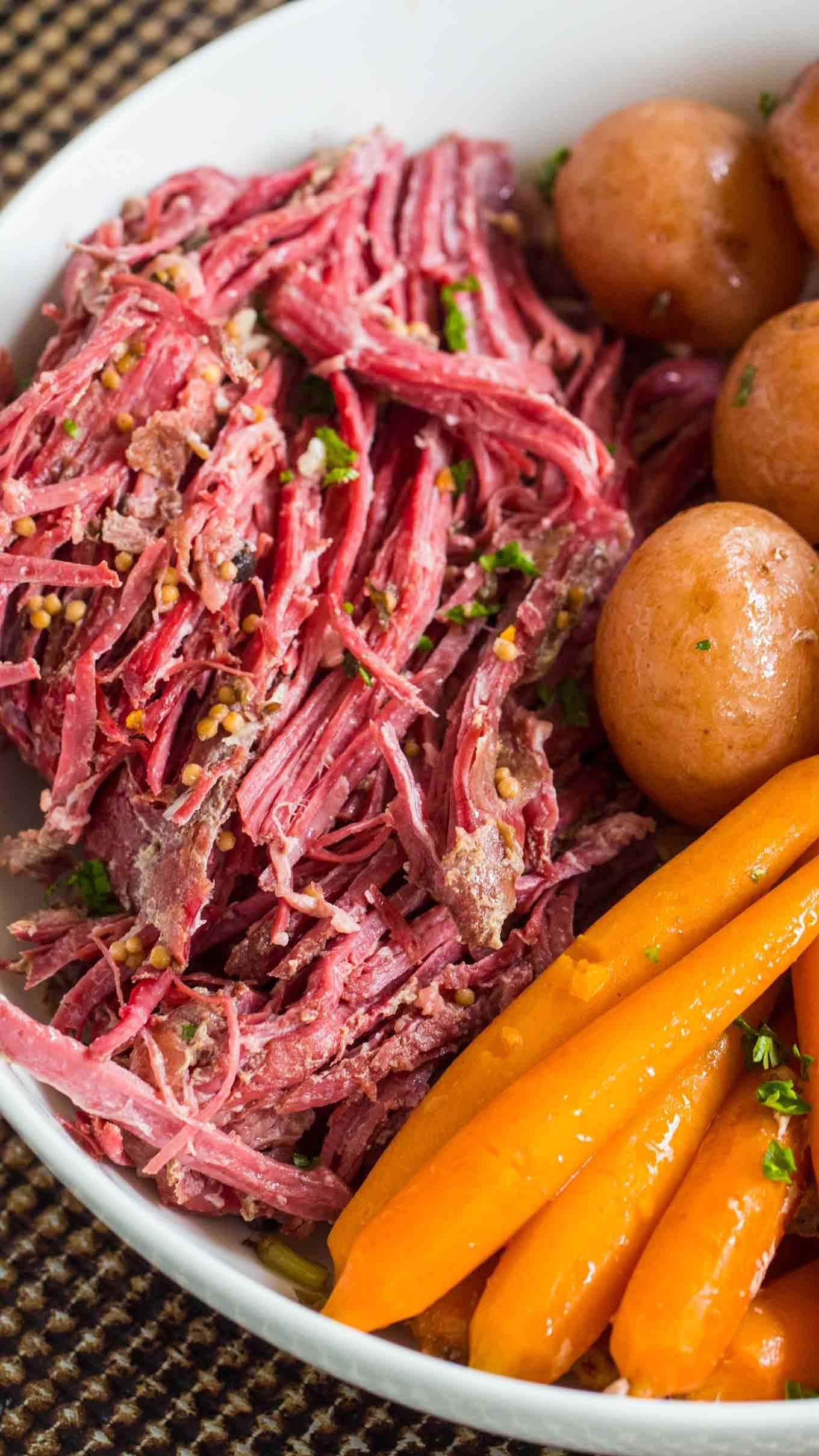 Slow Cooker Corned Beef with Cabbage | Recipe | Slow ...