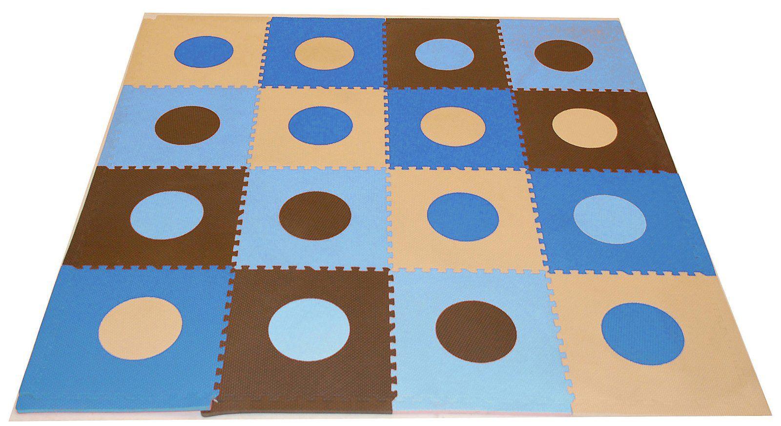 Tadpoles Playmat Set Blue u Brown Best Price Eus Room
