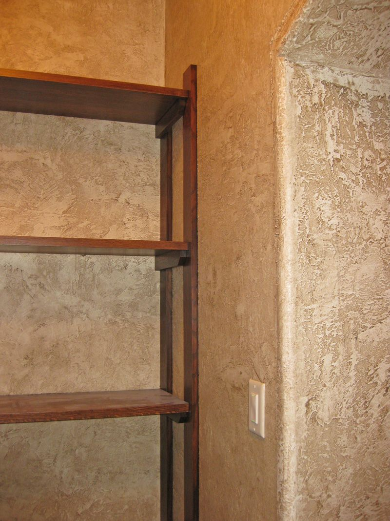 Wall finishes  rustic plaster textured walls