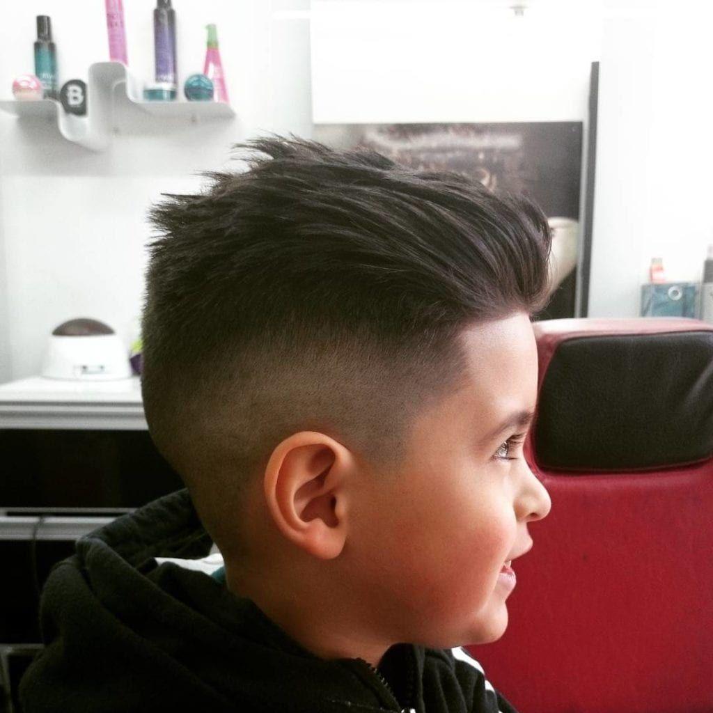 mohawk fade kids hairstyles