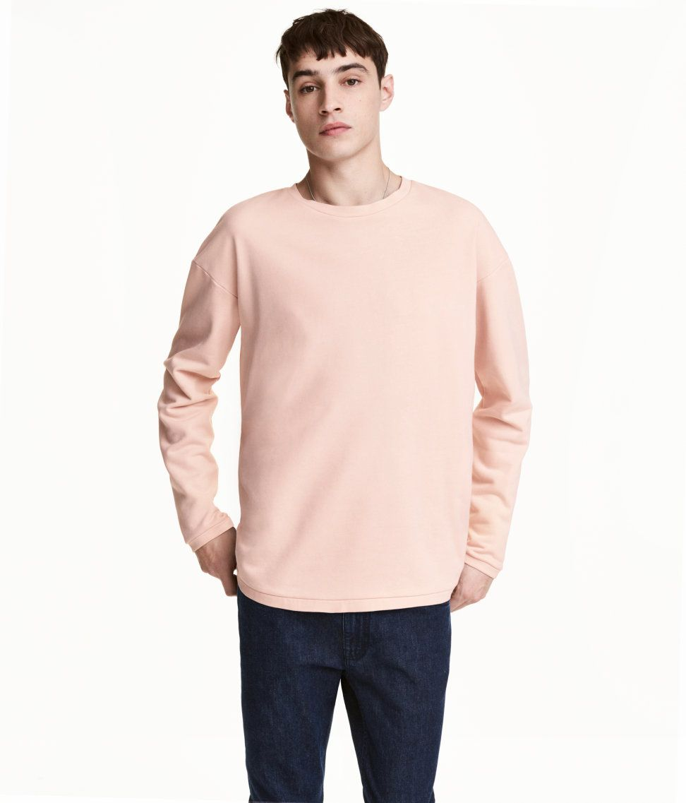Pastel Sweatshirt H M For Men Sweater Winter Fashion Long Sleeve Tshirt Men Men Sweater [ 1137 x 972 Pixel ]