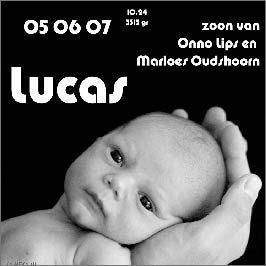 Foto geboortekaartje van fotograaf MeRy.nl ©