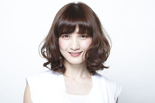 Double 中原 章義髪型 ヘアスタイル ミディアム