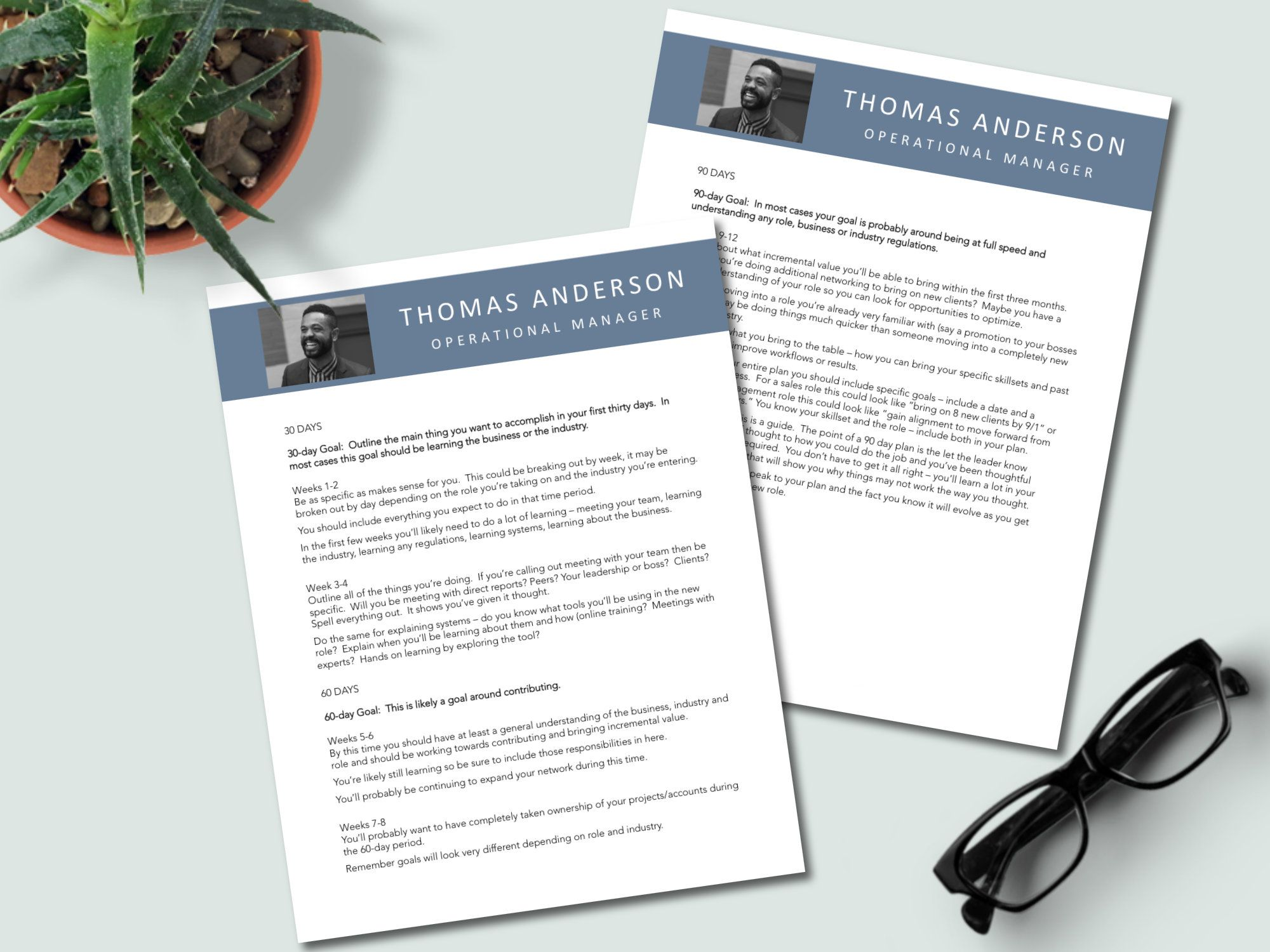 Simple 30 60 90 Day Plan For Job Interview Editable 90 Day Sales Template For New Managers I 90 Day Plan Professional Resume Writing Service Sales Template