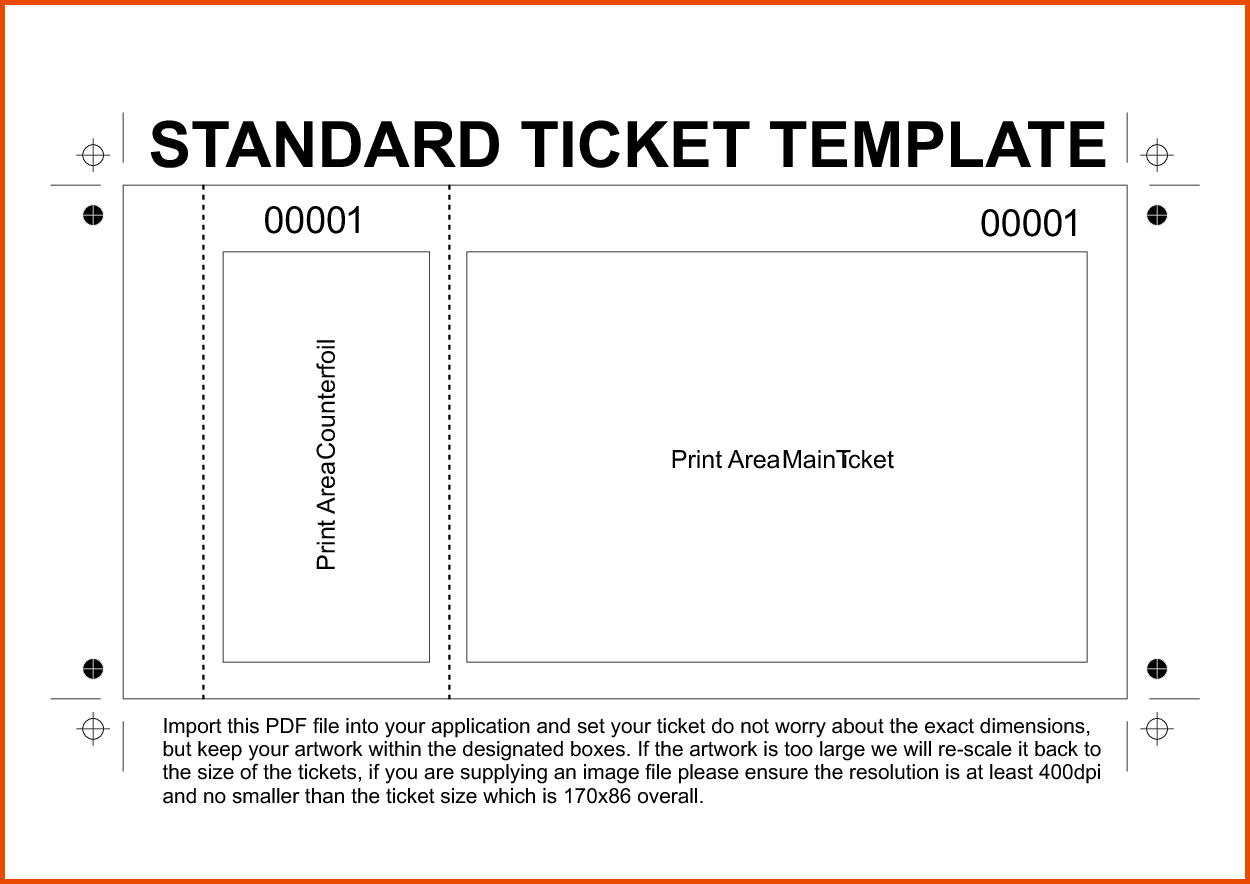 Free Printable Raffle Tickets Template.7315760.png  Concert Ticket Template Free