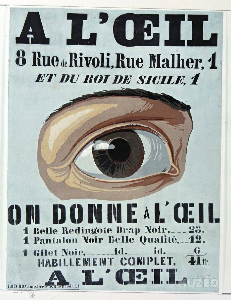 la grande époque affiche | Les premières grandes affiches publicitaires