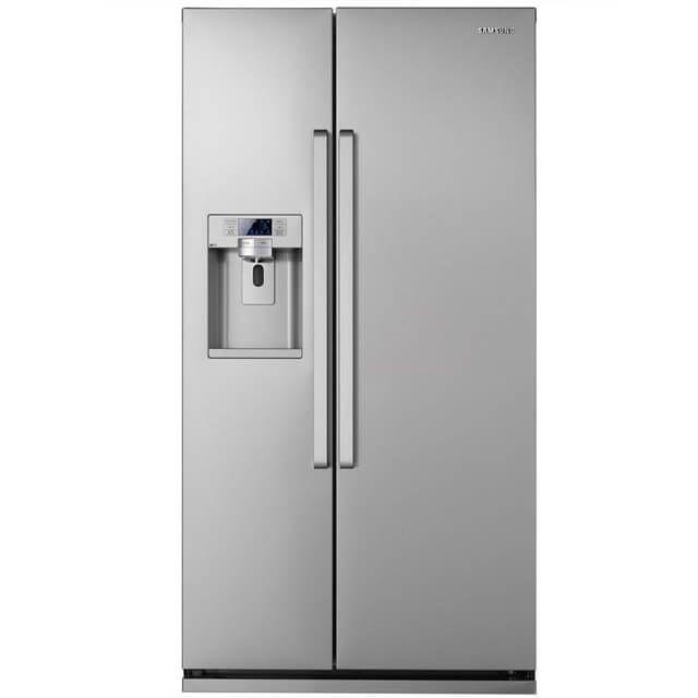 Best American Fridge Freezer Part - 24: Samsung H-Series RS7667FHCSP American Fridge Freezer - Platinum Inox