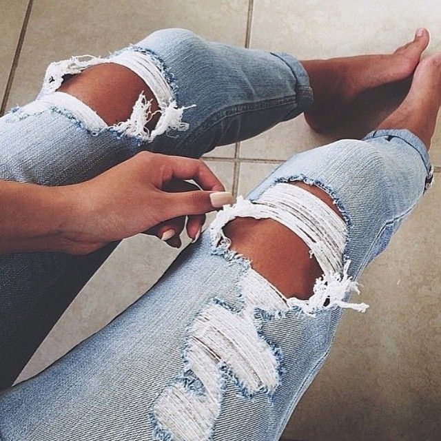 Ripped jeans kind of day