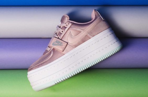 ada0c20b12c Stay Stylish  amp  Taller With The Nike WMNS Vandal 2K Particle Beige The  Nike WMNS