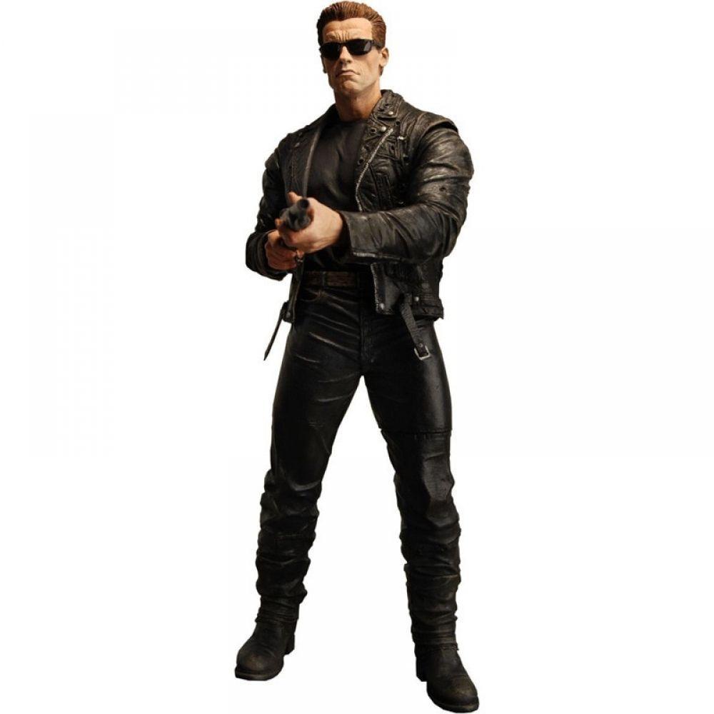 Terminator 2 Judgment Day T-800 Pescadero Escape PVC Action Figures Statue Toy