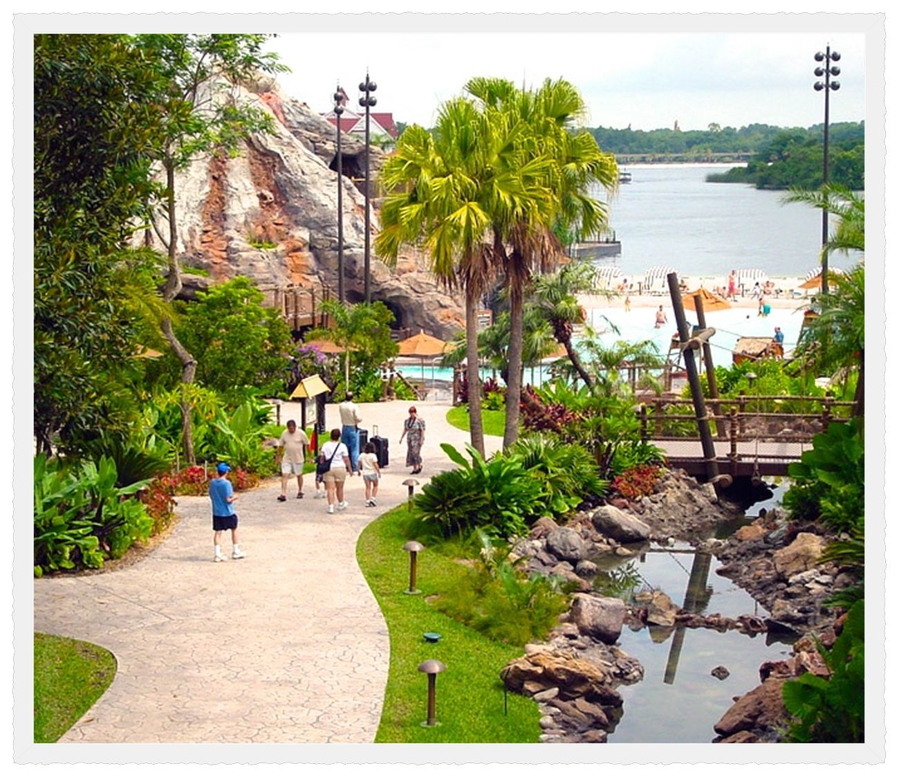Orlando, Florida. Disney\'s Polynesian Village Resort (formerly the ...