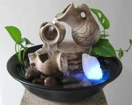 de todo un poco feng shui las fuentes de agua ms - Fuentes De Agua Decorativas
