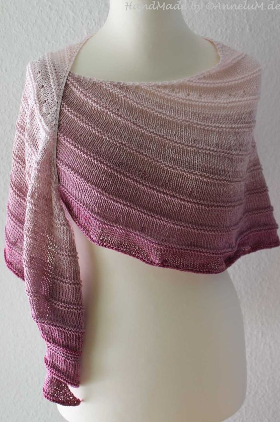 Photo of Modern Love knitted scarf