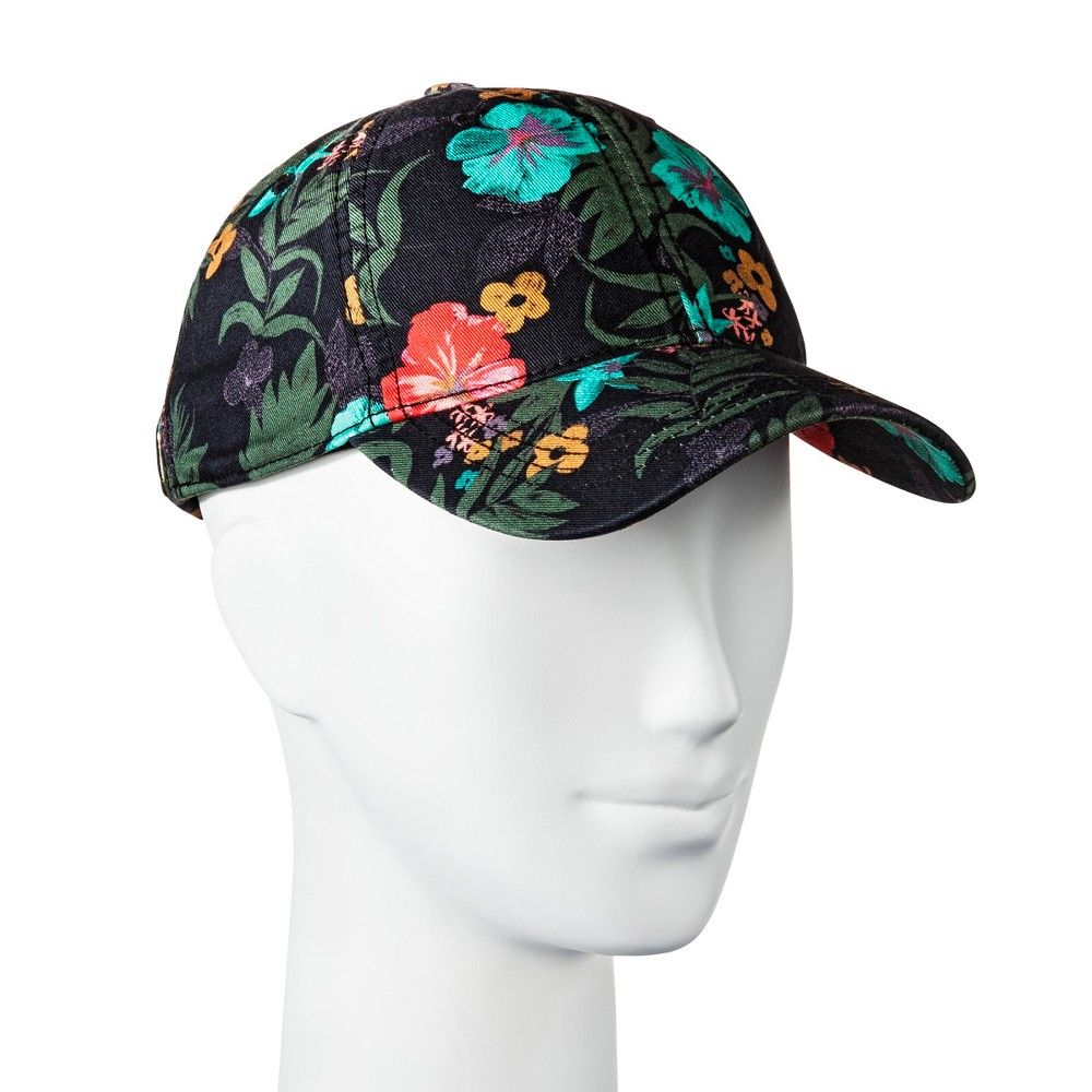 Women s Tropical Print Baseball Hat - Mossimo Supply Co. Green ... cf9ffc0cb53
