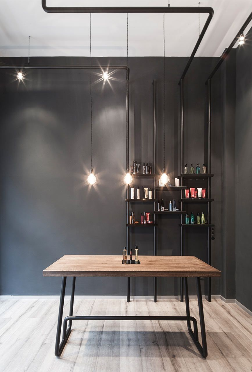 A Minimalist Hair Salon In Dusseldorf Hair Salon Interior Salon Interior Beauty Salon Design