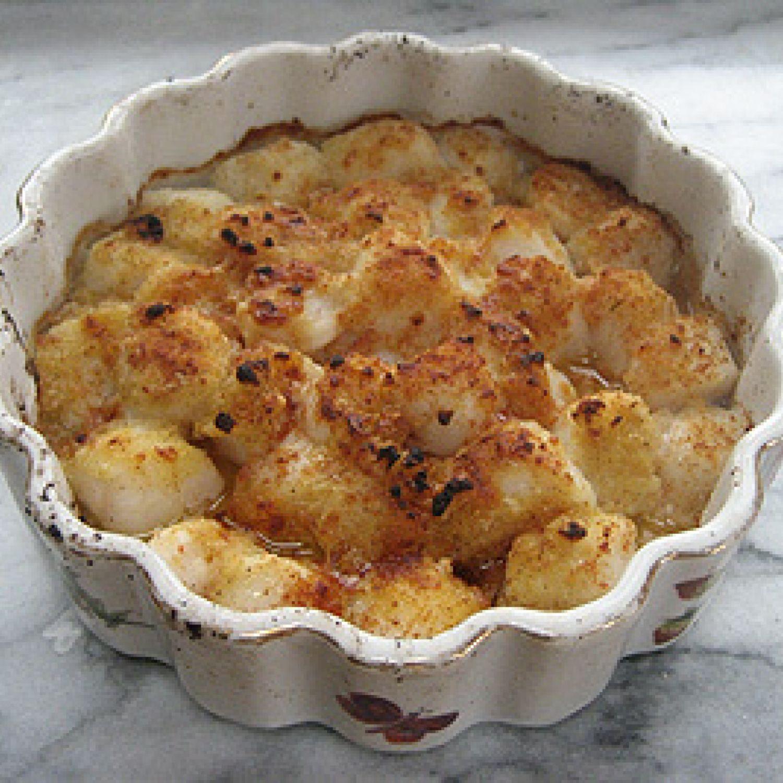 Casserole Of Scallops - Fine Company Dish