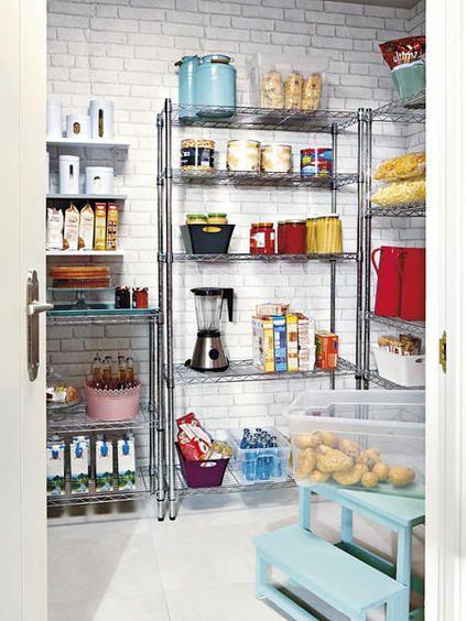Todo en su sitio casa estanteria cocina estantes de - Estanterias metalicas para casa ...