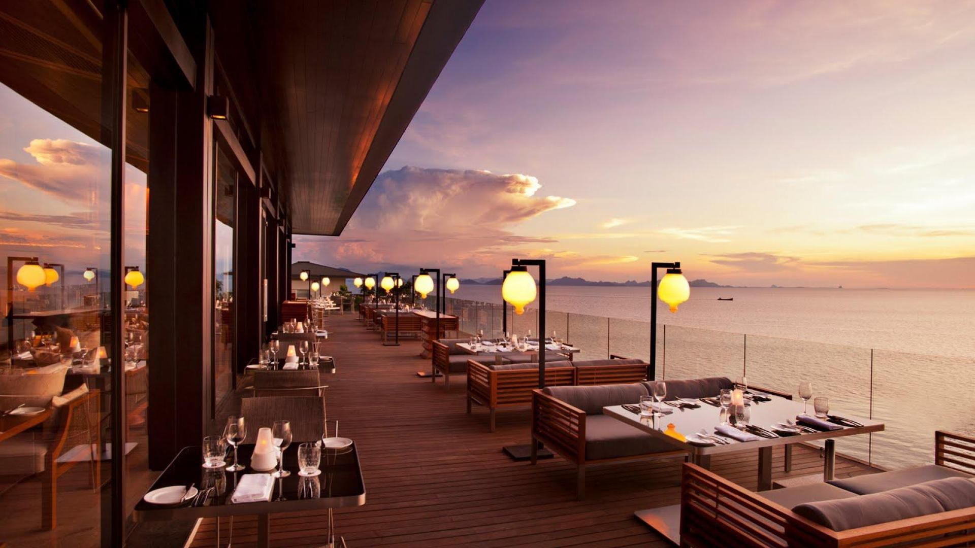 Download Hd Wallpapers Of Superb Seaside Restaurant HD Desktop Background Free High Quality And Widescreen Resolutions Images