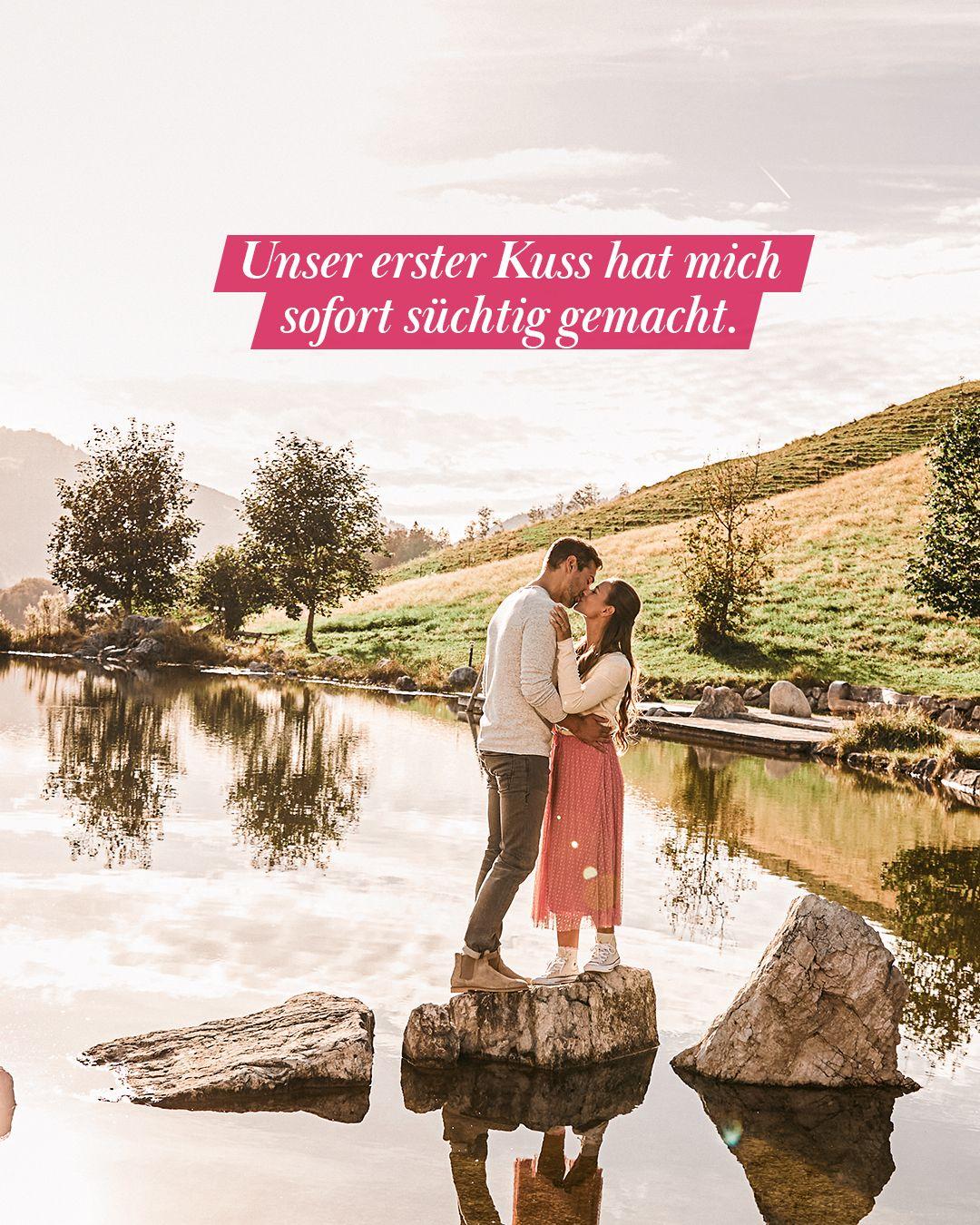 Unser erster Kuss hat mich sofort süchtig gemacht.#mydays