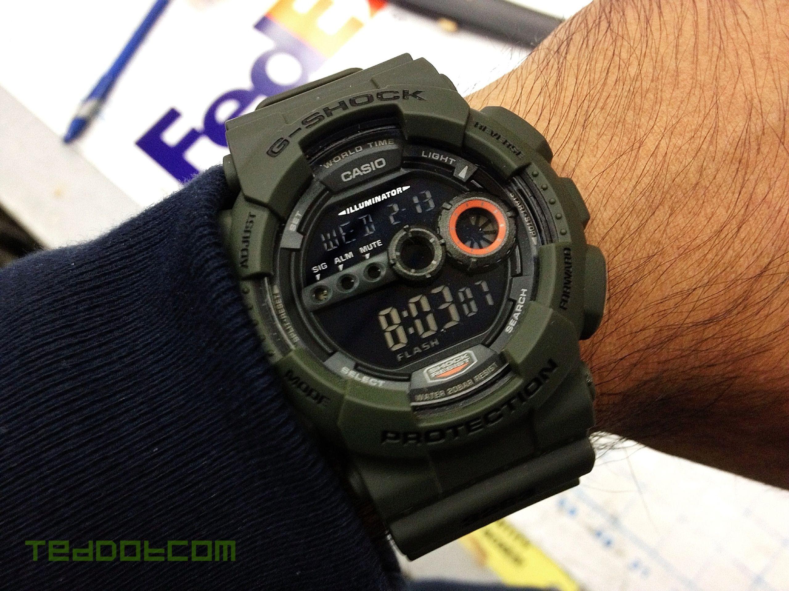 My Gd 100ms 3 At Work G Shock Digital Pinterest Casio 400mb 1