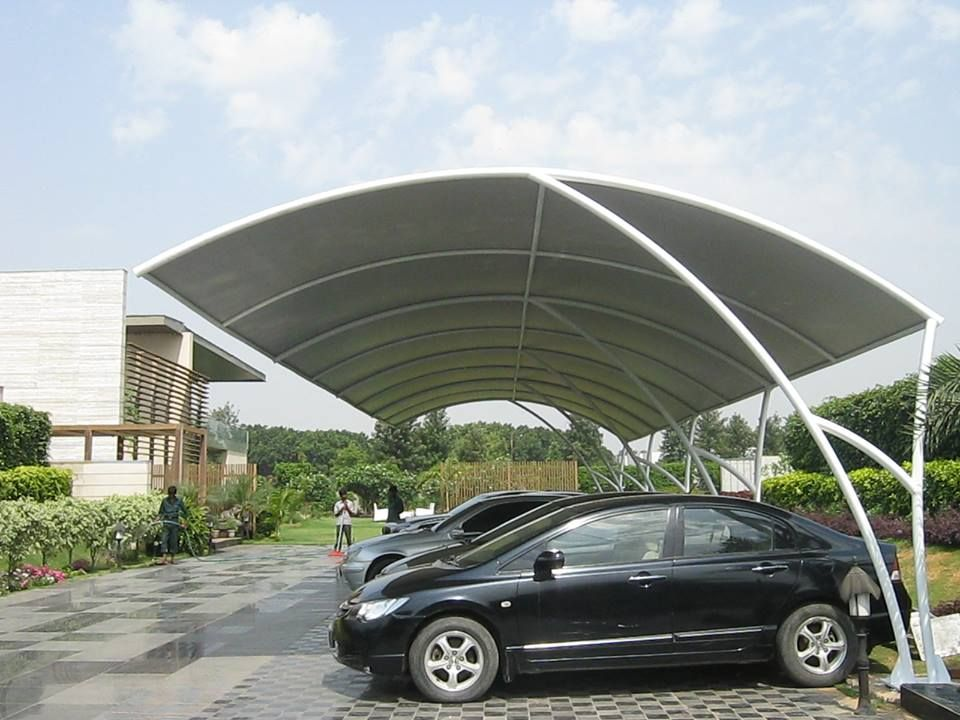 Manufacturer And Exporter Of Tensile Structures Ludhiana Tensile Structures Ludhiana Car Parking Shades Roofing Sheds M Car Shed Carport Designs Parking Design
