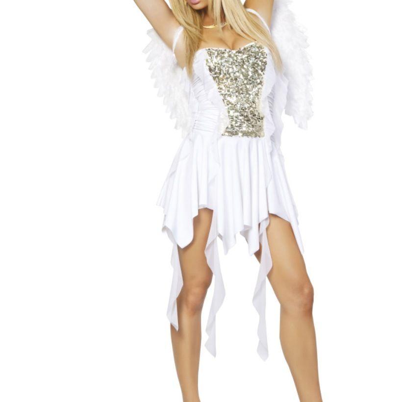 Heavenly Angel Dress  Wings Angels Pinterest Heavenly - angel halloween costume ideas