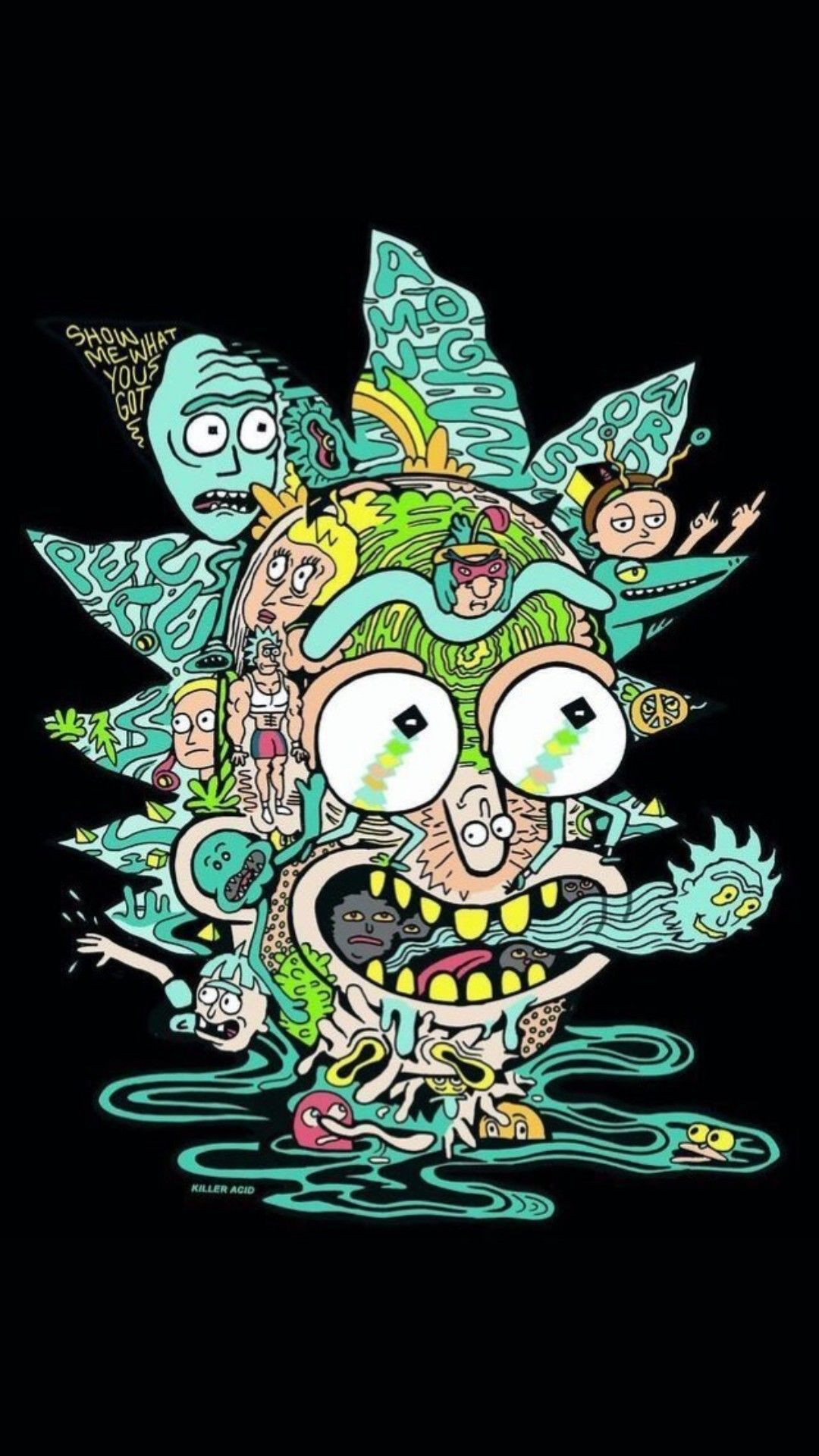 Pin by Dead on RRick and Morty Rick and morty poster
