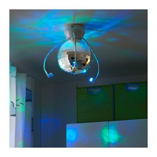 DANSA Disco ball with LED light - -, - - IKEA | New kids rooms ...