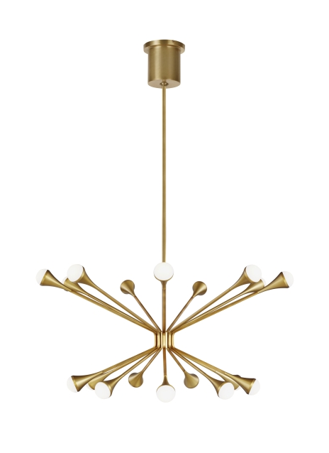 This Mid Century Modern Inspired Family Lody By Tech Lighting Recreates A Retro Look With Contemporary Appeal T In 2020 Chandelier Lighting Tech Lighting Chandelier