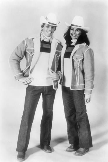 Olympic fashion by Levi Strauss, Team USA, Lake Placid 1980