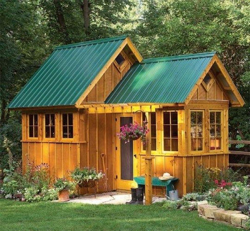 46 Inspiring Backyard Shed Ideas To Maximize Your Garden