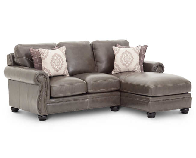 Sectionals-Heirloom III 2 Pc. Sectional With Chaise-Heirloom quality and style
