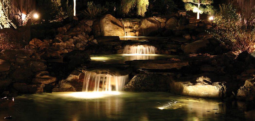 Koi Fish Pond Ponds Lights Underwater Garden Products