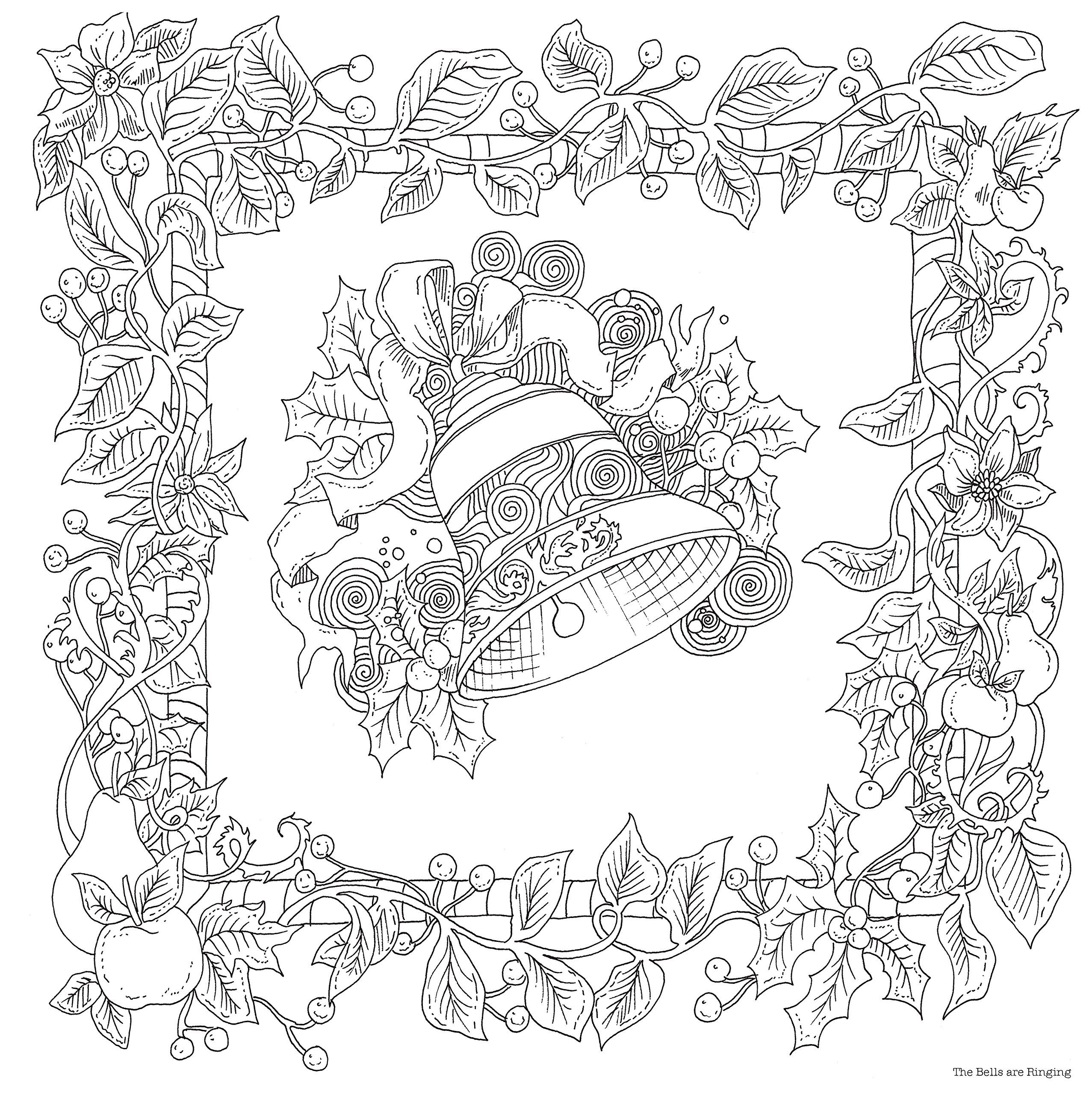 Pinterest christmas adult coloring pages - Amazon Com The Magical Christmas A Colouring Book 9781405925136 Lizzie Adult Coloring Pagescolouring