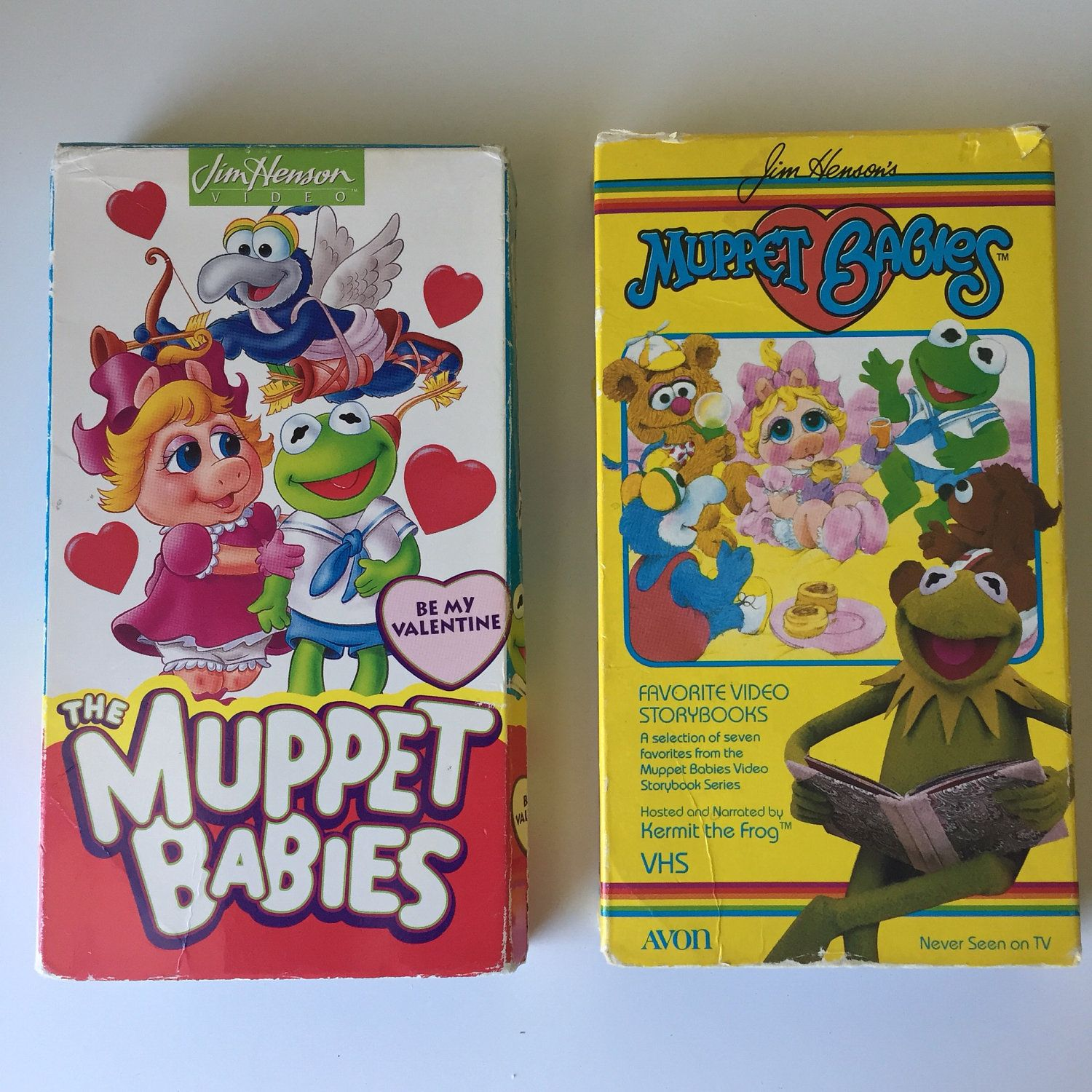 1990's The Muppets & Sesame Street VHS Tapes/DVD's